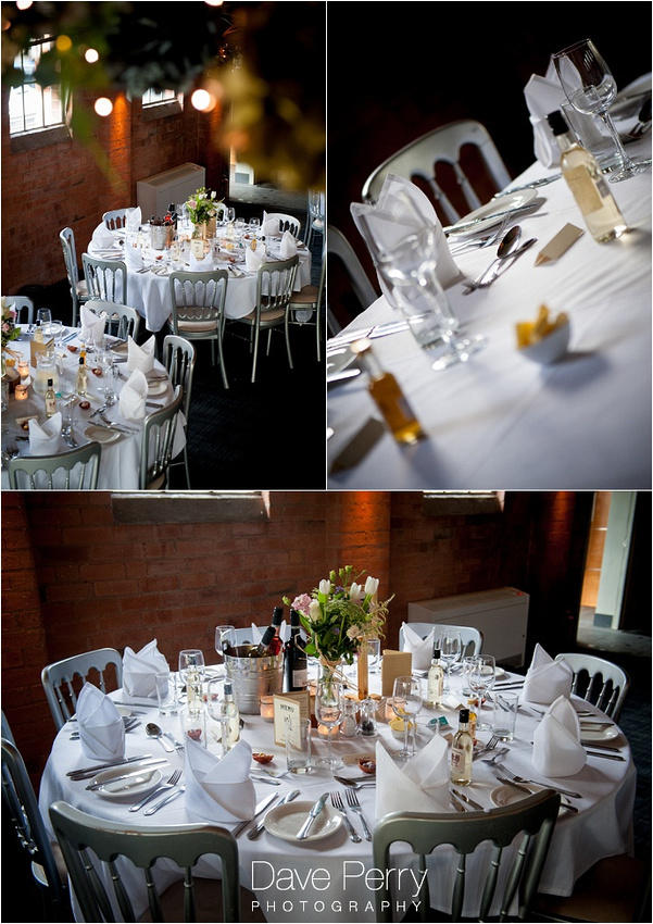 a stylish pretty wedding table layout in gorcott hall