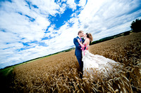 A Wedding Couple at Chesterton Windmill