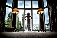 A Bride at Welcombe Hotel Stratford Upon Avon
